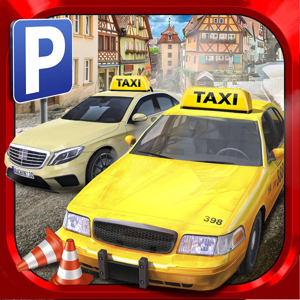Car Games Taxi Parking